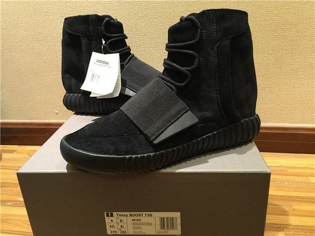 """separation shoes 9b603 2a45f Authentic Adidas Yeezy 750 Boost """"Pirate Black""""(Final ..."""