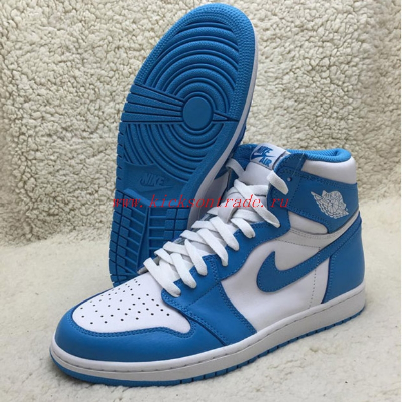 "Authentic  Air Jordan 1 Retro High OG ""UNC"""