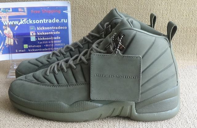Authentic AJ12 PSNY x Air Jordan 12 Olive