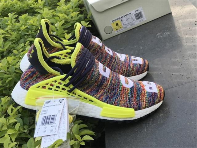 "Authentic Adidas Human Race NMD x Pharrell Williams ""Multicolor"""