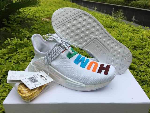 free shipping 1841f 5d26a Authentic Adidas Human Race NMD x Pharrell Williams White on ...