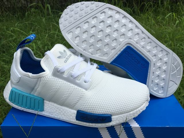 Authentic Adidas NMD Boost White&Blue