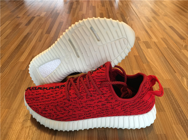 """Authentic Adidas Yeezy 350 Boost Low """"Red&White"""""""