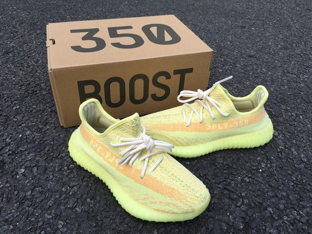 Authentic Adidas Yeezy 350 Boost V2 Yellow