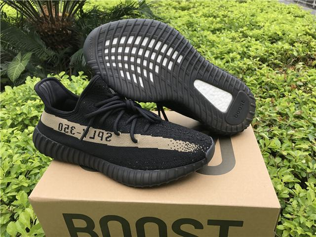 7ba65852b Authentic Adidas Yeezy 350 V2 Boost Core Black Green on sale