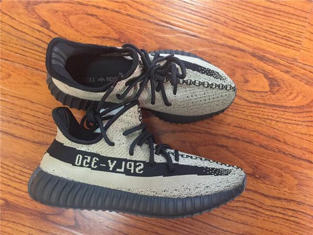 Authentic Adidas Yeezy 350 V2 Olive Green