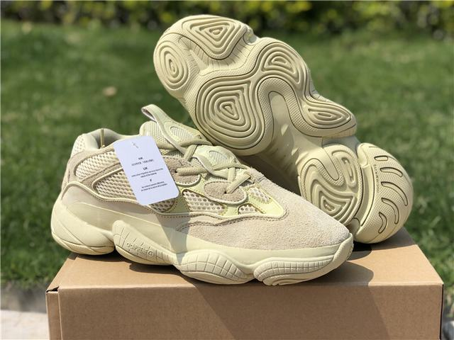 "bf7da2b48402a Authentic Adidas Yeezy 500 ""Super Moon Yellow"" on sale"