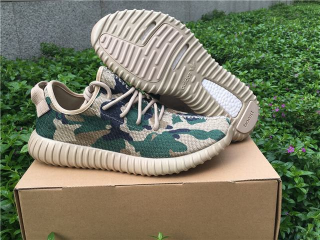 Authentic Adidas Yeezy350 Boost Camo Custom Made