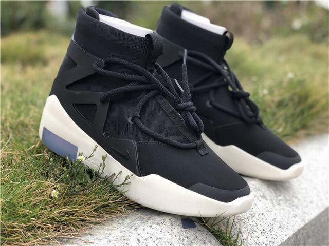 Authentic Air Fear of God 1 Black