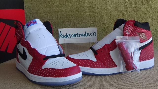 "Authentic Air Jordan 1 ""Chicago Crystal"""