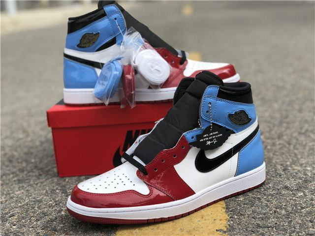 Authentic Air Jordan 1 Fearless
