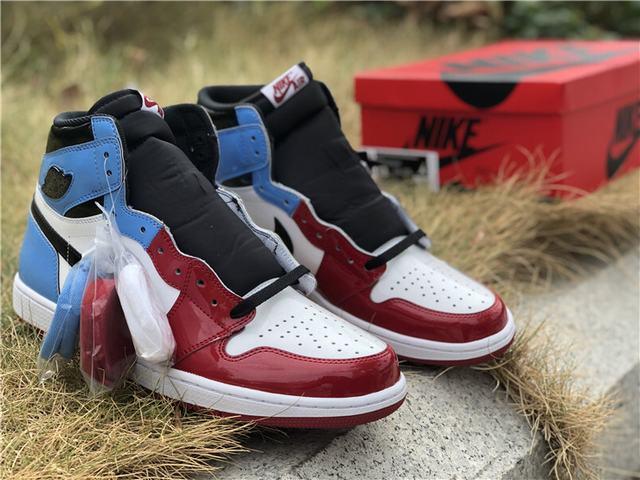 Authentic Air Jordan 1 Fearless