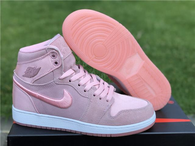 Authentic Air Jordan 1 GS Pink