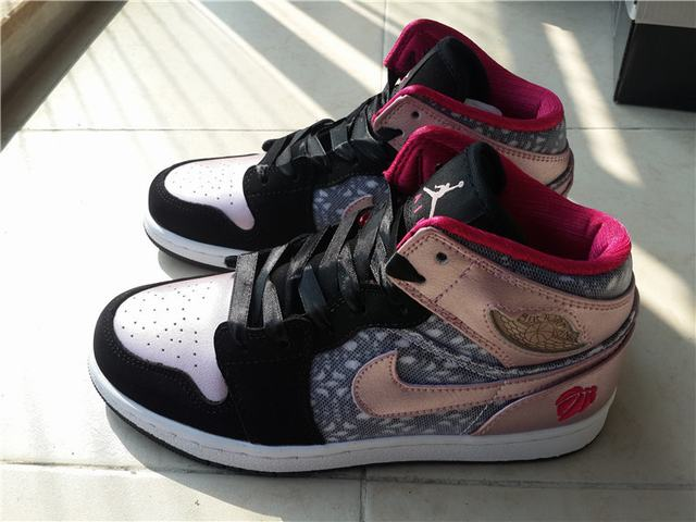 Authentic Air Jordan 1 GS Valentine's Day