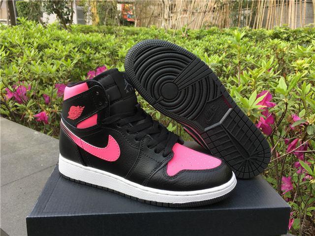 Authentic Air Jordan 1 GS Vivid Pink
