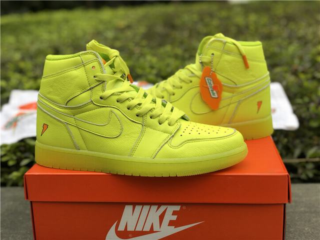 Authentic Air Jordan 1 Gatorade