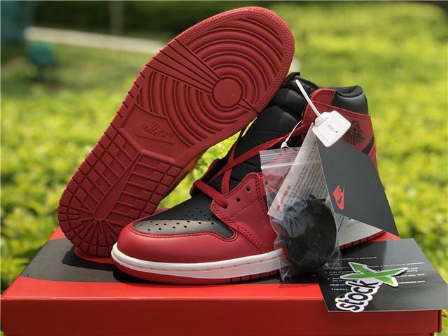Authentic Air Jordan 1 HI 85 Varsity Red