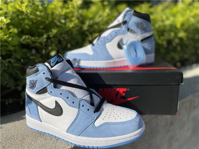 "Authentic Air Jordan 1 High OG ""University Blue"""