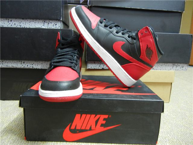 Authentic Air Jordan 1 High OG Bred GS