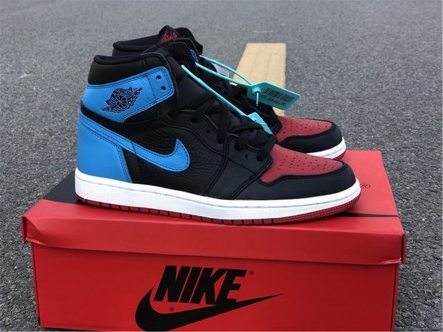 "Authentic Air Jordan 1 High OG WMNS ""UNC To Chicago"""