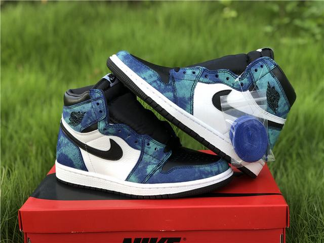 "Authentic Air Jordan 1 High OG WMNS ""Tie-Dye"""