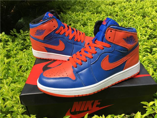 "Authentic Air Jordan 1 Retro High OG ""Knicks"""
