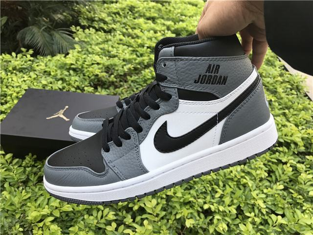 Authentic Air Jordan 1 OG Dark Grey 2017