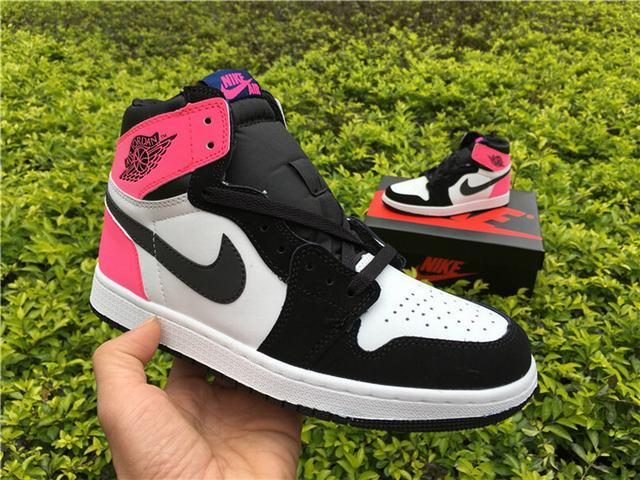 Authentic Air Jordan 1 OG Valentines Day 3M GS