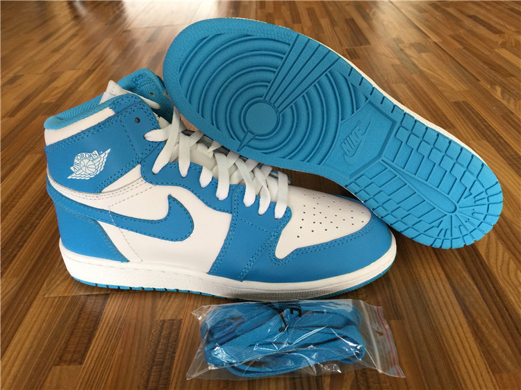"Authentic Air Jordan 1 Retro High OG ""UNC""  GS"