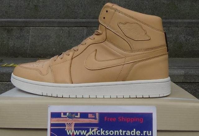 "Authentic Air Jordan 1 Retro Pinnacle ""Vachetta Tan"""