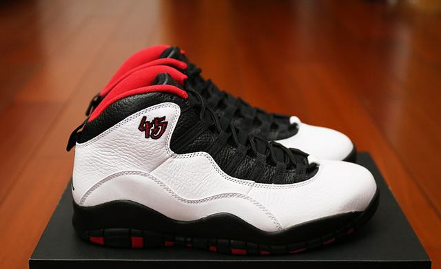 Authentic Air Jordan 10 Chicago Bulls 2015