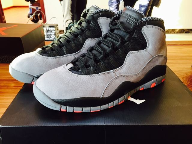Authentic Air Jordan 10 Cool Grey