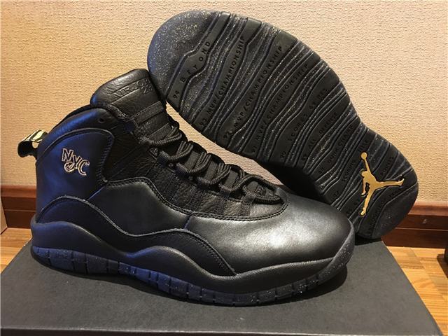 Authentic Air Jordan 10 NYC