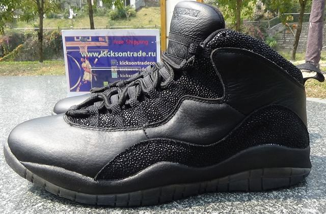 Authentic Air Jordan 10 OVO Black(In Stock)