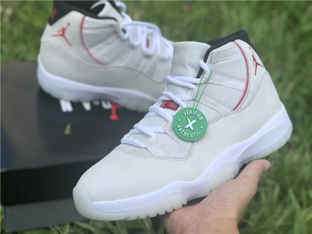 "Authentic Air Jordan 11 ""Platinum Tint"""