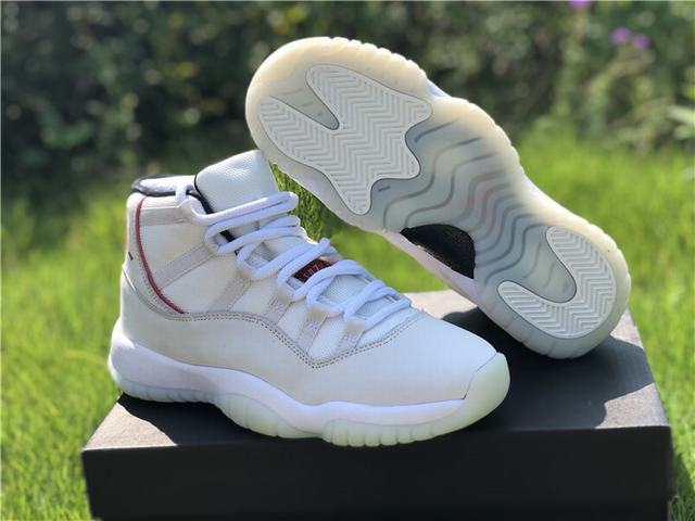 "Authentic Air Jordan 11 ""Platinum Tint""  GS"