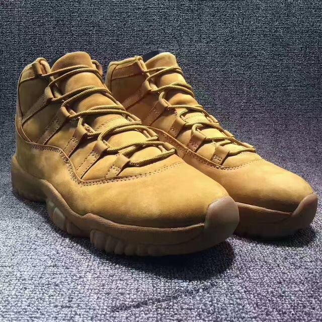"Authentic Air Jordan 11 ""Wheat"""