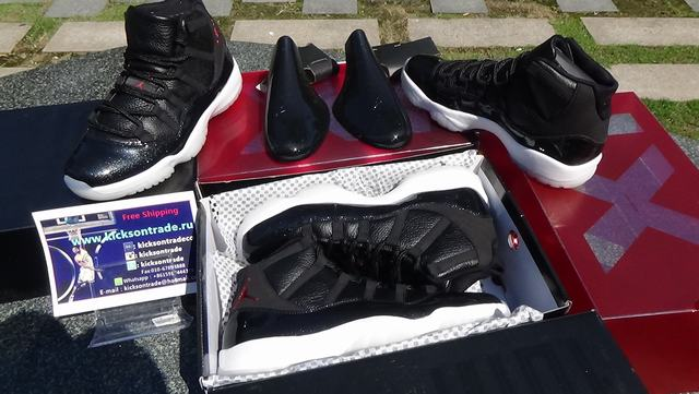 "Authentic Air Jordan 11 ""72-10"""