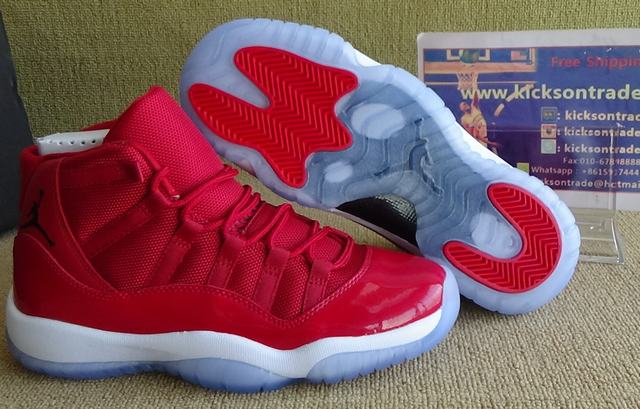 "Authentic Air Jordan 11 ""Gym Red"" GS"