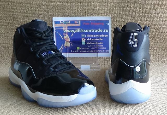 "Authentic Air Jordan 11 ""Space Jam"" 2016"