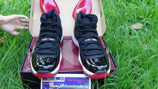 Authentic Air Jordan 11 Bred