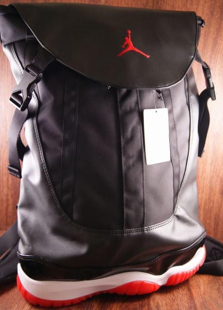 Authentic Air Jordan 11 Bred Backpack