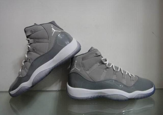 Authentic Air Jordan 11 Cool Grey GS