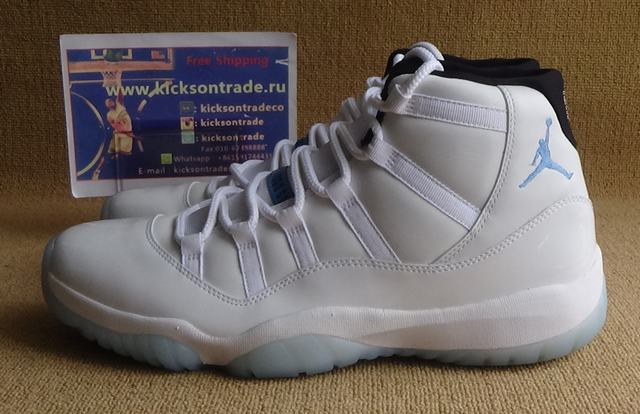 Authentic Air Jordan 11 Legend Blue