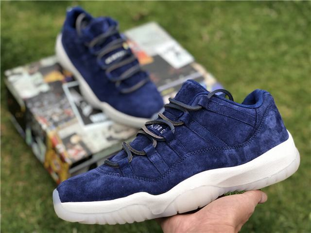 "Authentic Air Jordan 11 Low ""RE2PECT"""