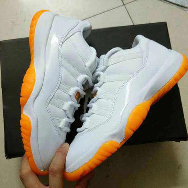 Authentic Air Jordan 11 Low Citrus