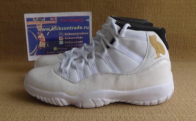Authentic Air Jordan 11 OVO White