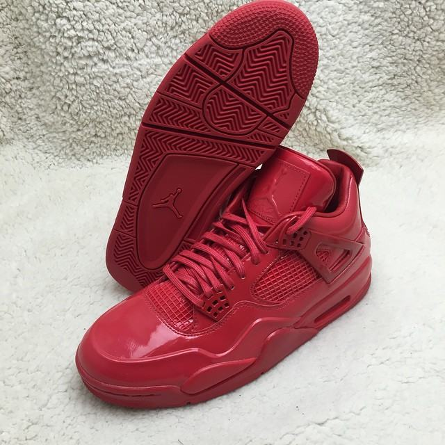 Authentic Air Jordan 11Lab4 Red