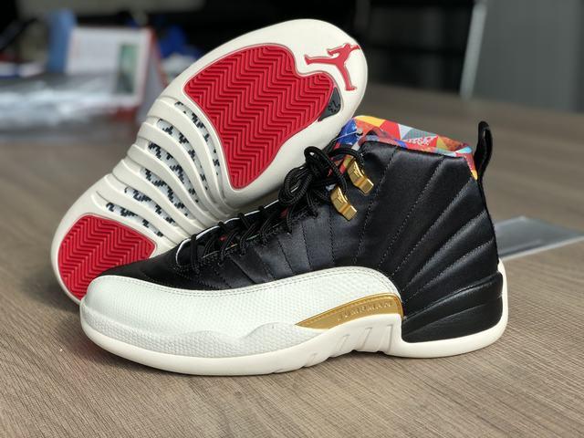 "Authentic Air Jordan 12 ""CNY"""