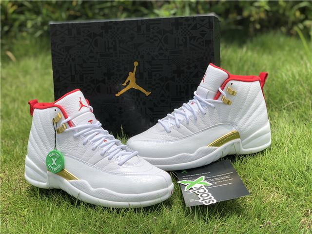 "Authentic Air Jordan 12 ""FIBA"""